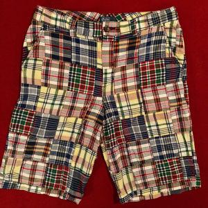 Polo by Ralph Lauren patchwork plaid shorts